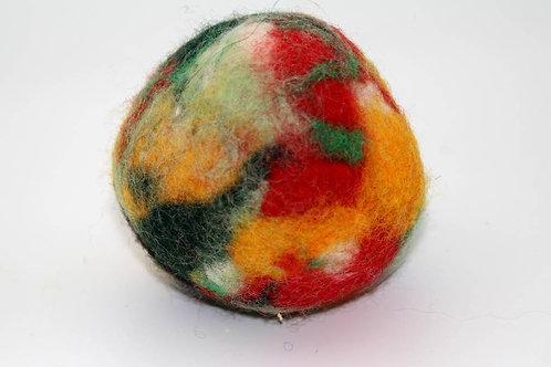 Filzball Herbstlichbunt ohne Rassel