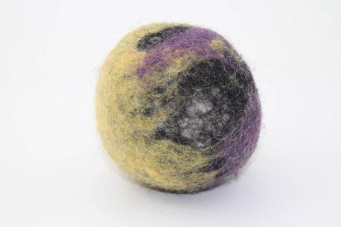 Filzball Lila Gelb ohne Rassel
