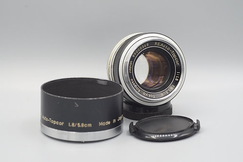 Topcor RE 58mm f1.8