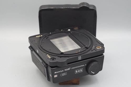 Mamiya RZ67 Pro ii 645 Film Back