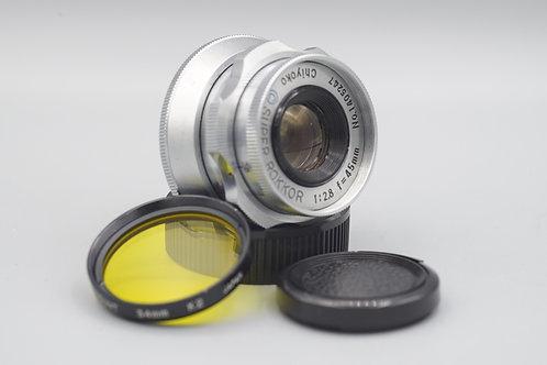 Minolta Chiyoko Super Rokkor 45mm f2.8