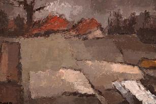 Landschaft im Vorfrühling, 1986