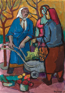 Drei Marktfrauen, 1963