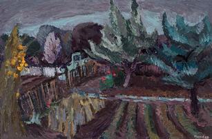 Gartenlandschaft, 1968