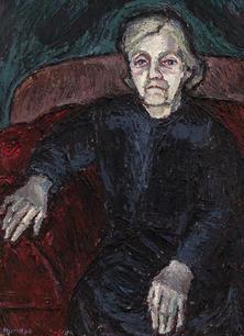 Bildnis einer alten Frau, 1966