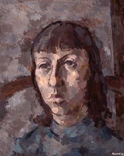 Porträt Kerstin, 1976
