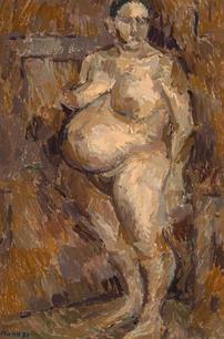Stehende Schwangere, 1971