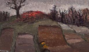 Landschaft im April, 1070
