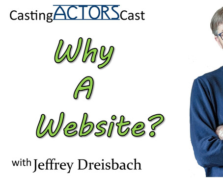 Why an Actor Website?