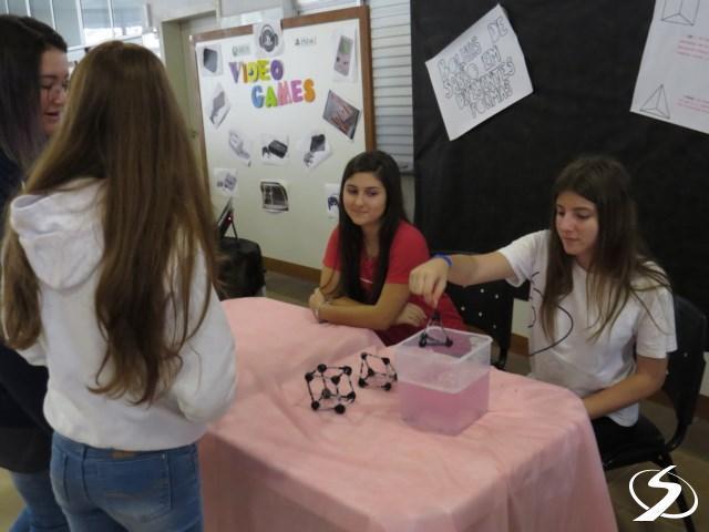 Projeto Sólidos de platão e bolas de sabão