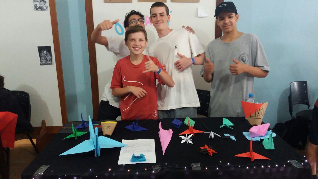 Projeto A História e Desenvolvimento dos Origamis