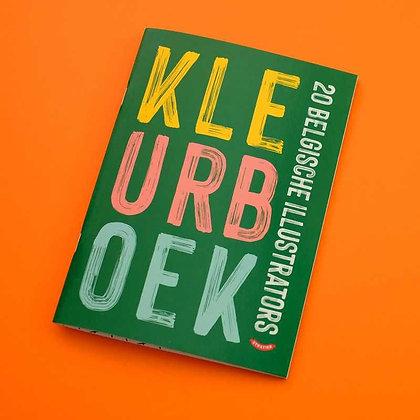 Kleurboek - 20 Belgische illustrators