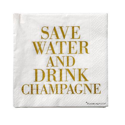 Napkin Champagne