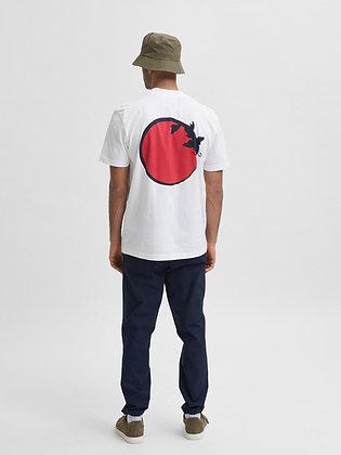 Mock hals T-shirt