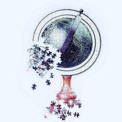 Slow Puzzle Globe
