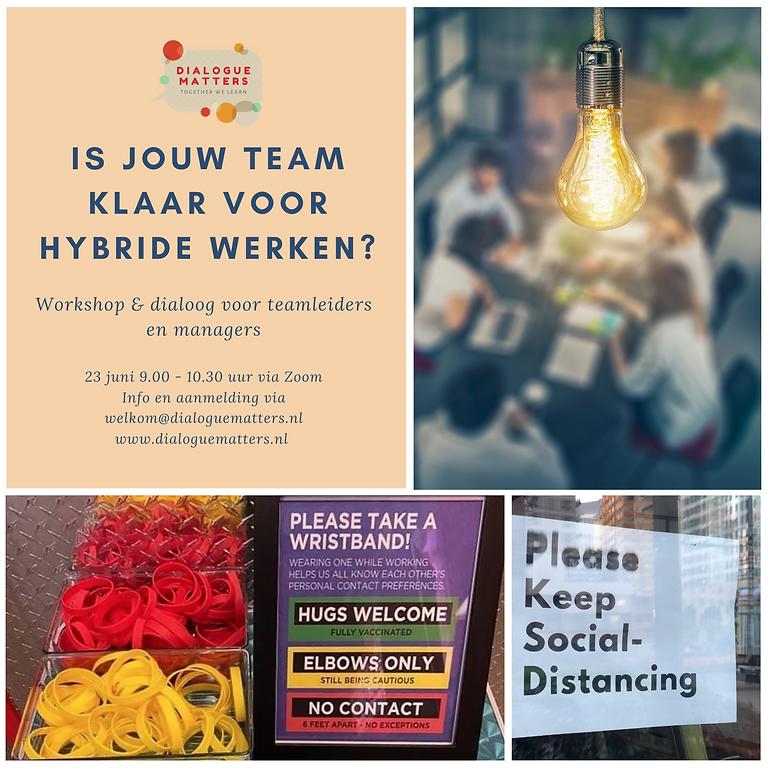 Workshop 'Klaar voor Hybride Werken'