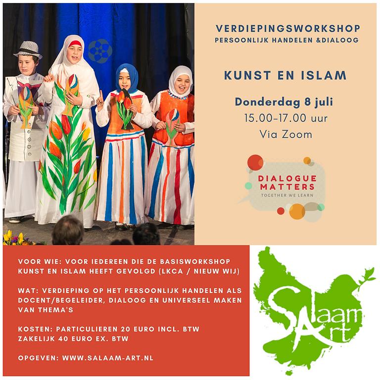 Verdiepingsworkshop Islam en Kunst deel 2