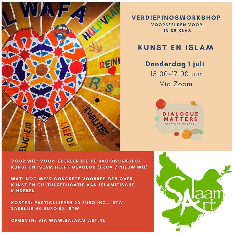 Verdiepingsworkshop Islam en Kunst