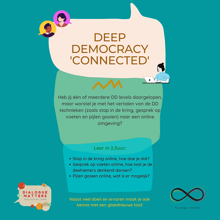 Deep Democracy Connected Try-Out 28 mei