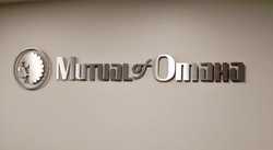 Mutual of Omaha - Interior Sign