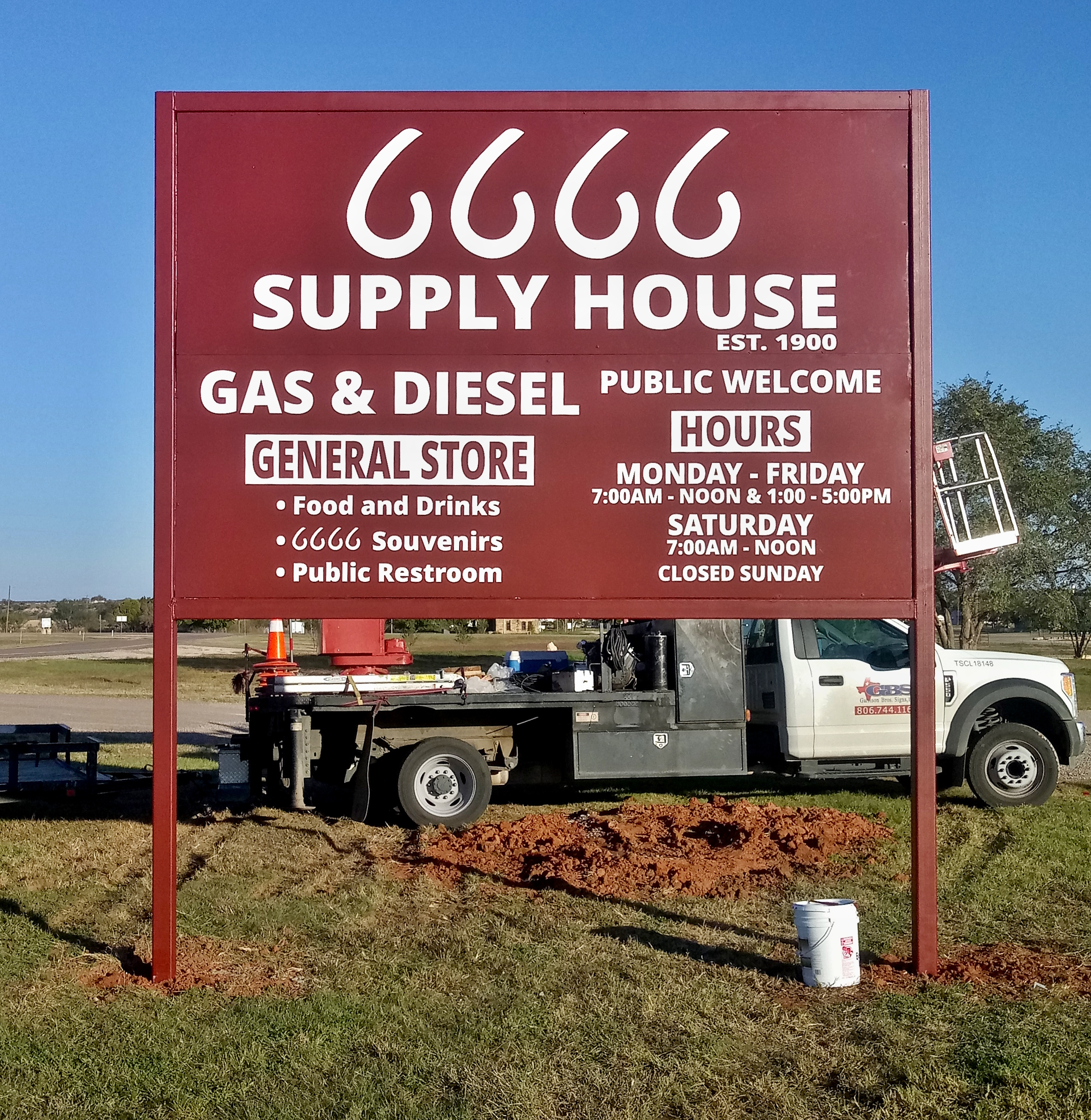 6666 Supply House - Guthrie, TX