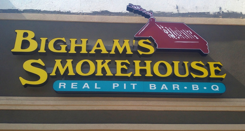 Bighams Smokehouse Completion Photo 2