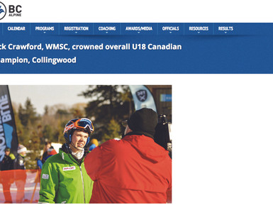 Jack Crowned U18 Canadian Champion