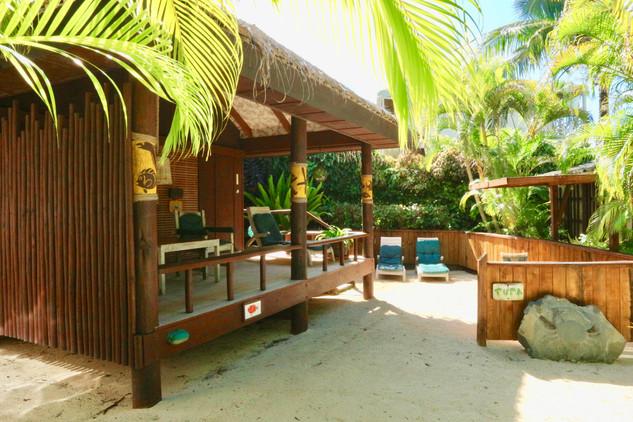 Tropical Beach Bungalow