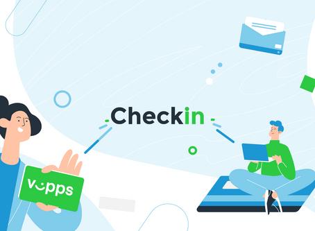 Checkin - forklart på 1 minutt og 6 sekunder