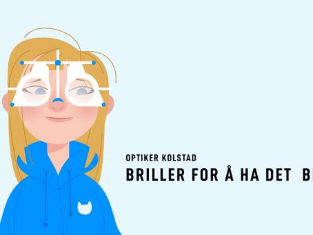 Optiker Kolstad - Forenkling av budskap med animasjonsfilm