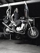 motorcycle, zrx, eddie lawson, amanda forward, artist