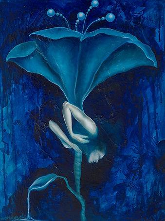 woman, painting, art, amanda forward, spiritual