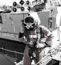 commercial diver, amanda forward, construction diver, women commercial divers, strong women, strong woman, mariner