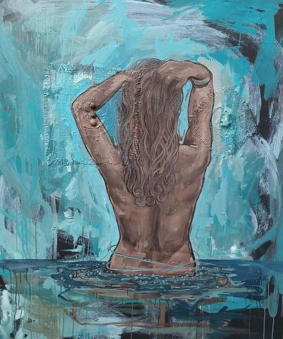 aphrodite, greek mythology, woman, nude, amanda forward