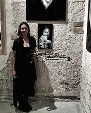 exhibition, woman, artwork, Amanda Forward