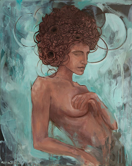 eco, greek mythology, amanda forward, painting