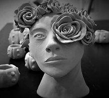 clay sculpture, amanda forward