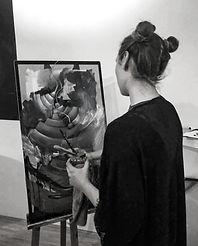 artist, amanda forward