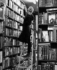 bookshop, book keeper, librarian, amanda forward, artist