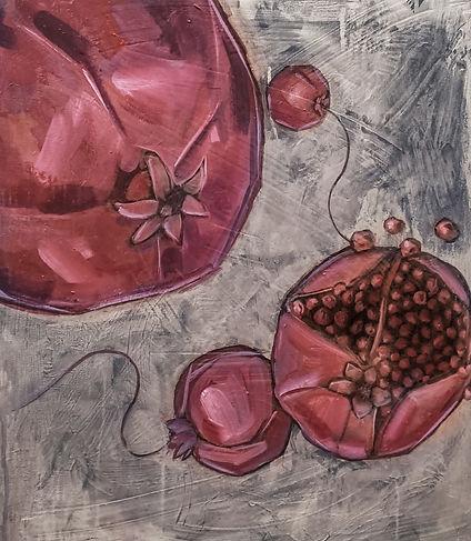fruit, pomegranet, amanda forward