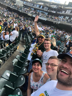 A's win in the 11th inning!