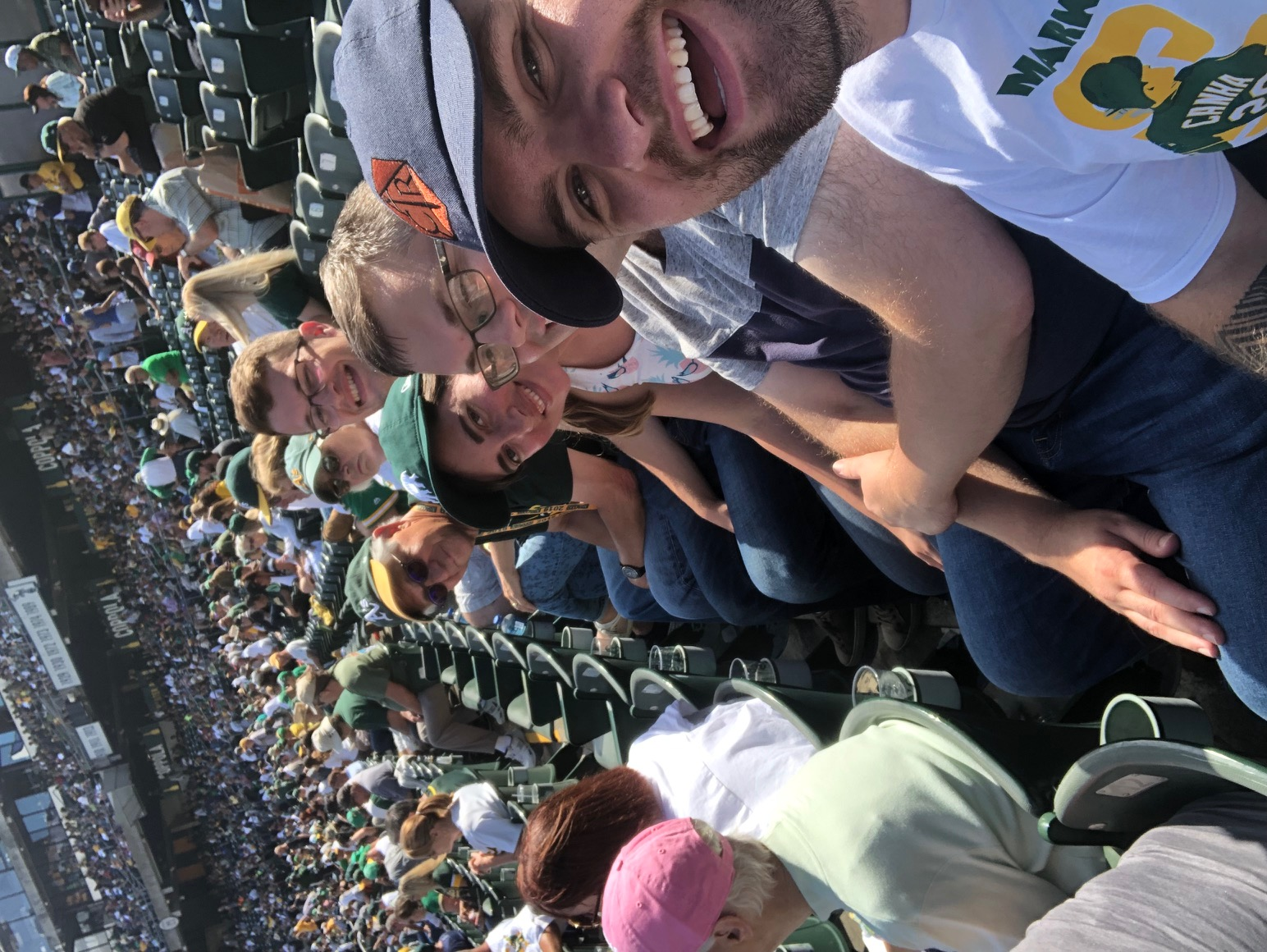 Marletta Lab at the Oakland A's!