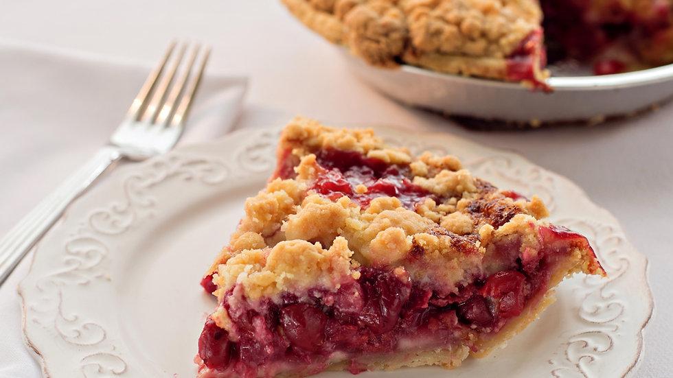 Cherry Crumble Pie-Dairy Free