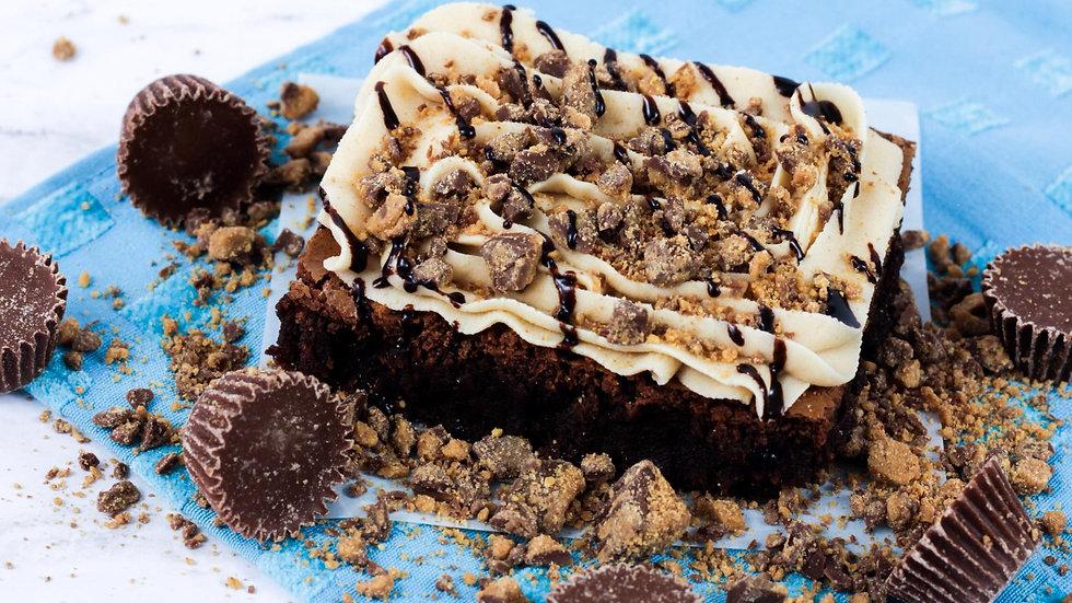 Peanut Butter Overload Brownie