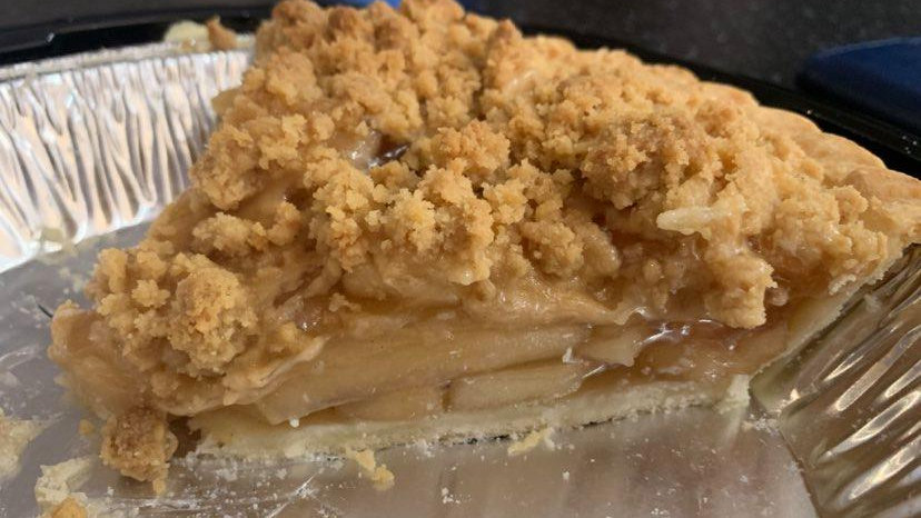 Apple Crumble Pie-Dairy Free