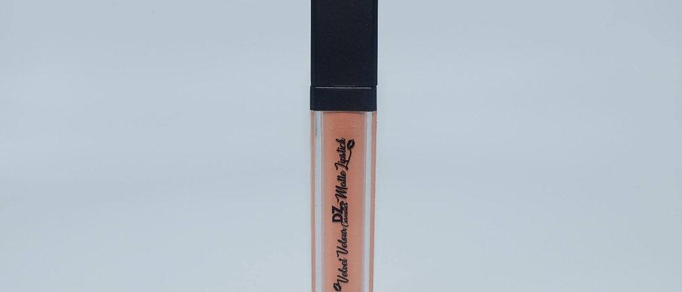 Velvet Velour Matte Liquid Lipstick | Pink Apricot