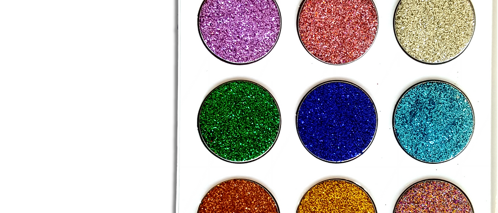 Never Dull Your Sparkle Pressed Glitter Palette