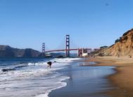 Baker Beach, San Francisco, USA