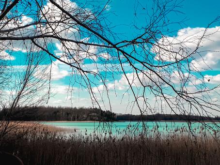Jezioro Turkusowe przy Koninie