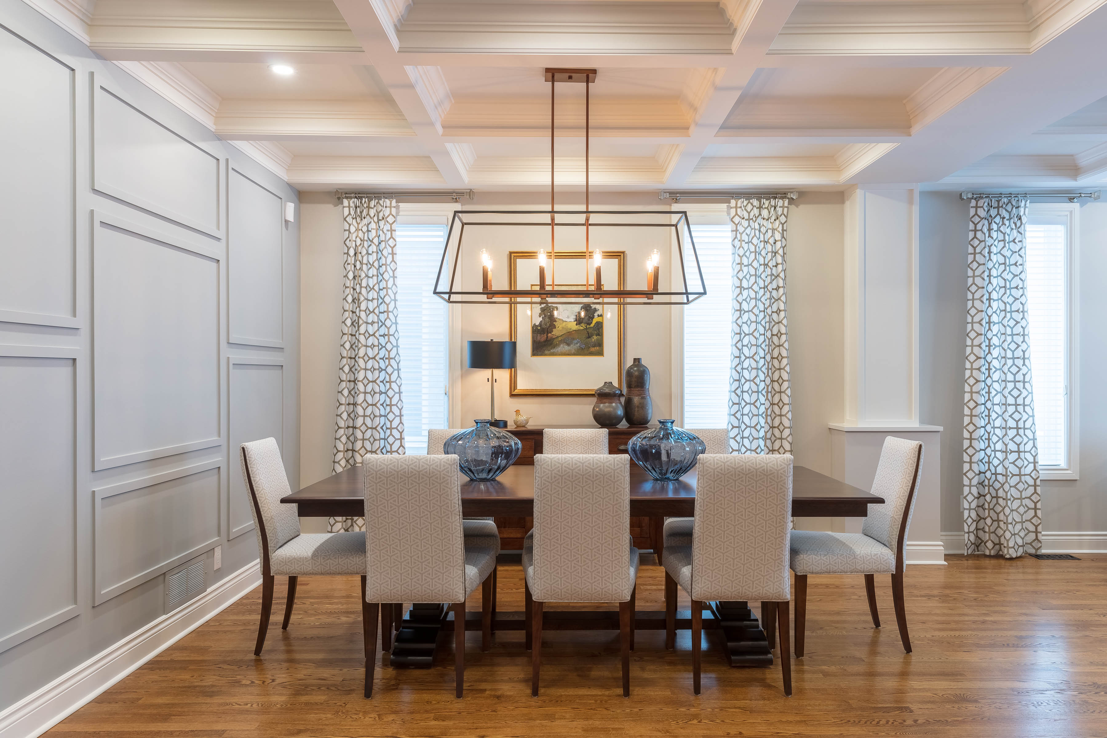 Transitional Classic Dining